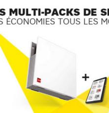 Multi-Packs SFR: internet + mobile à partir de 24,98€ mois!