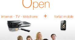 Offre internet Orange Open : cumuler la fibre et la 4G
