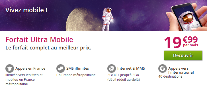 forfait mobile numericable
