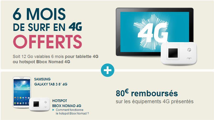 offre remboursement 4G