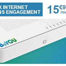 B&YOU: une offre internet à moins de 16€/mois!