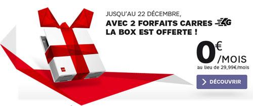 la box de sfr offerte avec 2 forfaits 4g offre internet. Black Bedroom Furniture Sets. Home Design Ideas