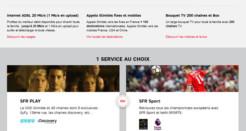 La box ADSL de SFR à partir de 19,99€/mois