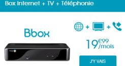 L'offre ADSL Bbox à 19,99€/mois est désormais disponible en ligne!