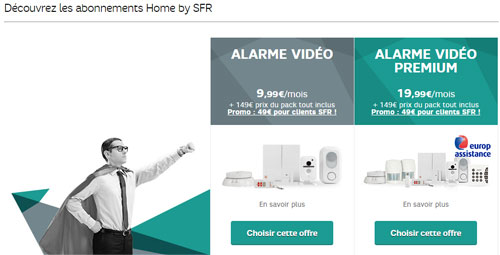 Abonnement alarme maison sfr segu maison for Abonnement internet maison secondaire