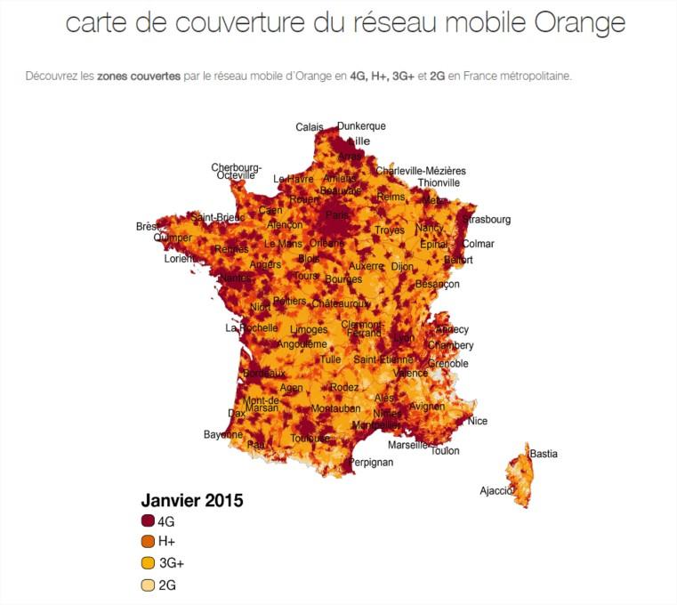 couverture 4G orange