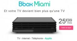 La Bbox Miami à 25,99€ désormais disponible en ligne!