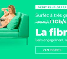 L'offre RED Fibre à 15€/mois (sans frais de location de la box)