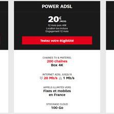 L'offre ADSL de SFR : les nouveautés