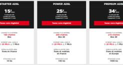 La box ADSL de SFR à partir de 15€/mois