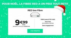 L'offre RED Fibre à moins de 10€/mois jusqu'au 10 janvier!