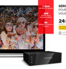 Série limitée SFR : une box complète à 24,99€/mois (à vie)