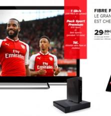 SFR lance 2 nouvelles offres internet : Power Sport et Power Cinéma