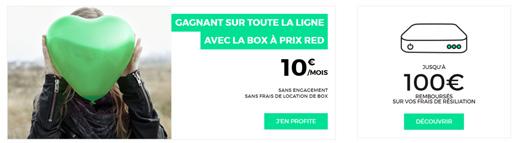Red Propose Sa Serie Speciale A 10 Mois Jusqu Au 13 11 Offre Internet