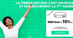 Chez RED, la box Série spéciale reste à 10€ jusqu'à Noël