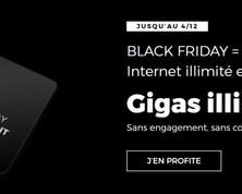 Black Friday chez RED : un forfait mobile illimité et la box toujours à 10€